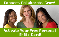 Get your E-biz Card!